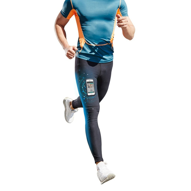 leggings sport homme smartphone textiles minceur sport cellutex. Black Bedroom Furniture Sets. Home Design Ideas